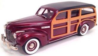 1940 Buick Woody Estate Wagon M-59 (Dark Maroon Poly)