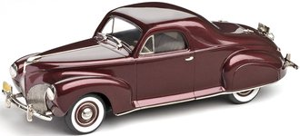 1940 Lincoln-Zephyr 3-Passenger Coupe (Burgundy Red)
