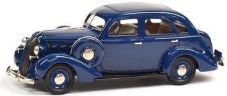 1937 Graham Supercharged 116 4-Door Sedan (Freedom Blue)