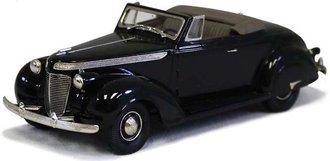 1937 Chrysler Imperial C-14 2-Door Convertible (Dark Green Metallic)