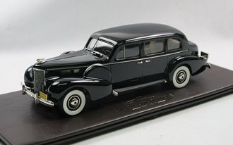 1:43 1938 Cadillac Imperial Sedan Limousine (Black)