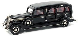 1934 Miller-Buick Art Model Funeral Coach (Black)