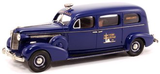 "1938 Flxible-Buick Sterling Ambulance ""1939 World's Fair"" (Blue)"