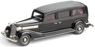 1934 Miller-Buick Funeral Coach (Black)