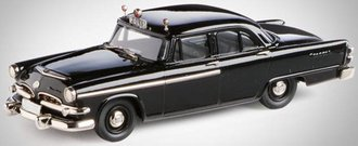 "1955 Dodge Coronet 4-Door Sedan ""Stockholm, Sweden"" (Black)"