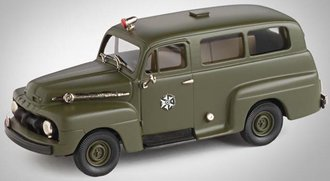 "1:43 1952 Ford F-1 Ranger ""First Israel Police"" (Olive Green)"