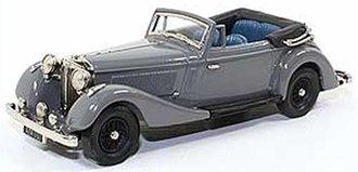 1937 Jensen 3.5 S Type Drophead Coupe (Gray)