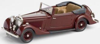 "1936 Bentley 4¼-Litre ""Park Ward"" Drop Head Coupe (Maroon)"
