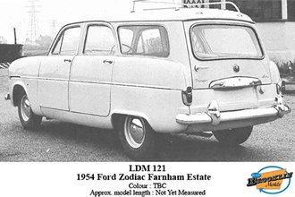 1954 Ford Zephyr Zodiac Farnham Estate Wagon (TBA)