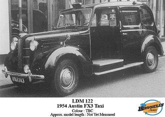 1954 Austin FX3 Taxi Taxi (TBA)