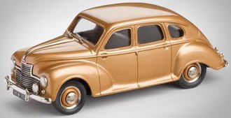 1953 Jowett Javelin 4-Door Sedan (Old Gold)