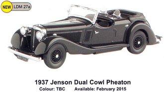 1937 Jensen Dual Cowl Phaeton (TBA)
