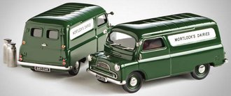 "1965 Bedford CA Van ""Mortlocks Daries"" (Dark Green)"