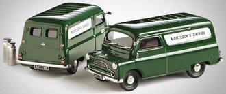 """1965 Bedford CA Van """"Mortlocks Daries"""" (Dark Green)"""