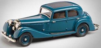 1937 Jensen 3.5 Litre S Type (Blue)