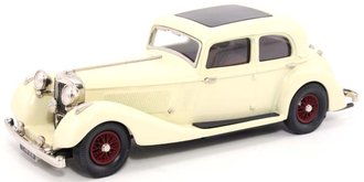 1937 Jensen 3.5 Litre S Type (Cream)