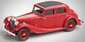 1935 Triumph Gloria Vitesse Sports Saloon (Dark Red)
