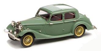 1937 Riley 1.5 Litre Continental 4-Door Sedan (Green)