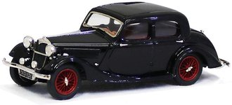 1937 Riley 1.5 Litre Continental 4-Door Sedan (Black)