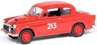 """1957 Sunbeam Rapier """"Mille Miglia - #213 Van Damm"""" (Red)"""