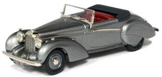 1939 Lagonda V12 Rapide Drop Head Coupe (Top Down) (Gunmetal Gray Metallic)