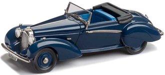 1939 Lagonda V12 Rapide Drop Head Coupe (Top Down) (Navy Blue)