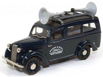 """1947 Bedford Utilecon """"Moore & Bush"""" Loudspeaker Van (Dark Blue)"""