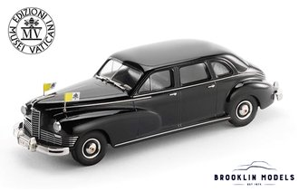 Vatican 1947 Packard Super Clipper Limousine Sseries 2126 Model 2150 (Black)