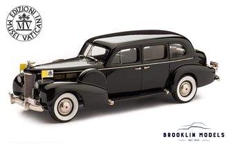 Vatican 1938 Cadillac V8 Series 75 Imperial Touring Sedan (Black)