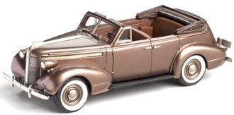 1937 Pontiac Deluxe Six 4-Door Convertible Sedan (Golden Brown Poly)