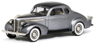1937 Pontiac Deluxe Six Sport Coupe (Dolphin Gray Poly)