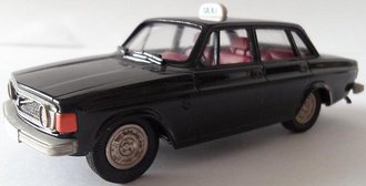 1973 Volvo 144GL Taxi (Black)