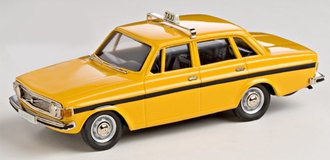 1:43 1973 Volvo 144GL Taxi (Yellow)