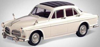1957 Volvo Amazon 120 (Pearl White)