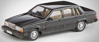 1987 Volvo 740GL (Dark Gray Metallic)