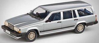 1987 Volvo 745 Estate (Silver)