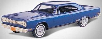 1:43 1969 Plymouth GTX 2-Door Hardtop (B-5 Blue)