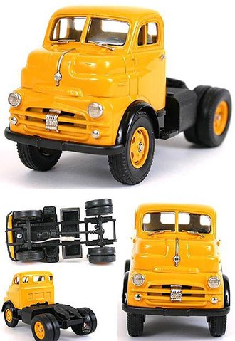 1953 Dodge COE Semi/Tractor Cab (Armour Yellow)