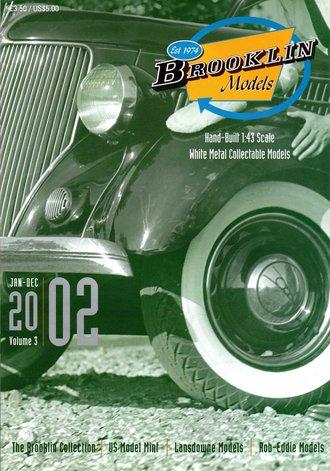 Brooklin Models & US Model Mint 2002 Color Catalog - Vol. 3