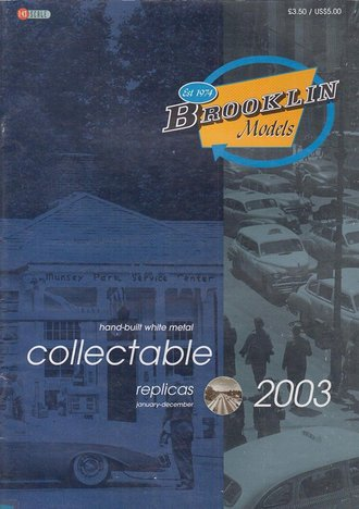 Brooklin Models & US Model Mint 2003 Color Catalog - Vol. 4