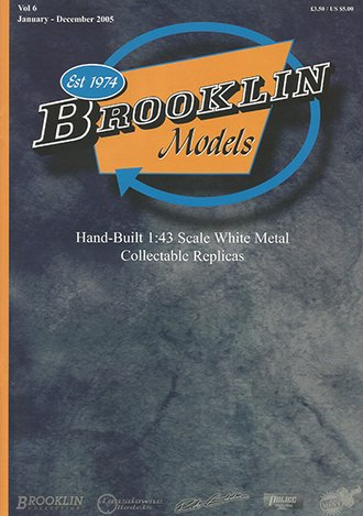 Brooklin Models & US Model Mint 2005 Color Catalog - Vol. 6