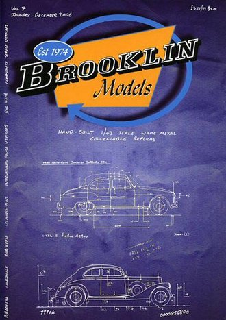 Brooklin Models 2006 Color Catalog & Collector's Guide - Vol. 7