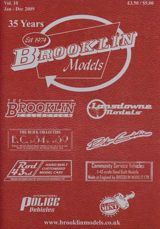 Brooklin Models 2009 Color Catalog & Collector's Guide - Vol. 10