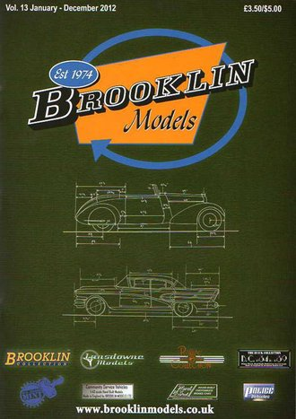 Brooklin Models 2012 Color Catalog & Collector's Guide - Vol. 13
