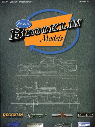 Brooklin Models 2013 Color Catalog & Collector's Guide - Vol. 14