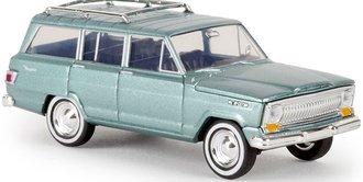 1:87 1966-69 Jeep Wagoneer (Green Metallic)