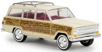 1:87 1966-69 Jeep Wagoneer Woody (Beige)