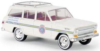 "1:87 1966-69 Jeep Wagoneer ""City of Garner"" (White)"