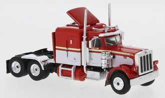 1:87 1973 Peterbilt 379 Tractor (Red/White)