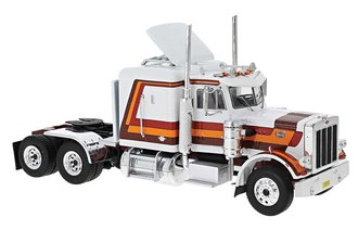 1:87 1973 Peterbilt 379 Tractor (Brown/White)